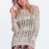 Push Play Oversized Sweater