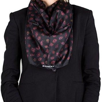 Givenchy Women's Paisley Pattern Silk Scarf