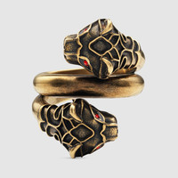 Gucci Tiger head ring