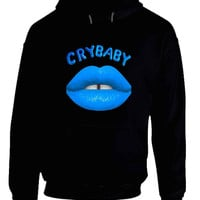 Melanie Martinez Crybaby Blue Mouth Hoodie