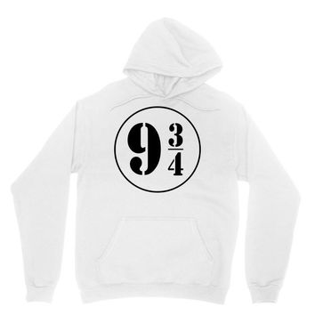 Harry Potter Train 9 3:4 Unisex Hoodie