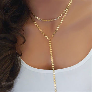 Shiny Stylish Gift Jewelry New Arrival Ladies Simple Design Handcrafts Chain Necklace [11424006671]