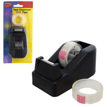 Tape Dispenser with Tape Set (Available in a pack of 12)