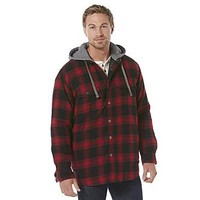 Craftsman Men's Flannel Shirt Jacket - Plaid