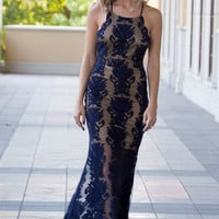 Lace Midnight Oasis Dress