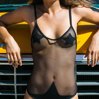 Minimale Animale The outlaw one piece in outlaw black