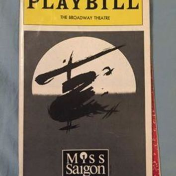 Miss Saigon Playbill