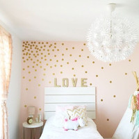 "2"" Confetti Polka Dot Mini-Pack Wall Decals"