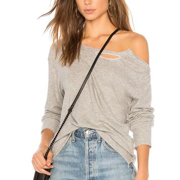 Brushed Madly Off The Shoulder Sweater