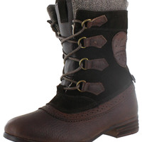 Pajar Clara Women's Lace Up Leather Snow Boots