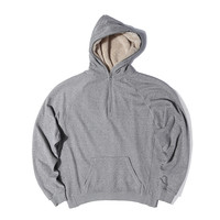 Indie Designs Fear Of God Inspired Half Zip Sherpa Hoodie