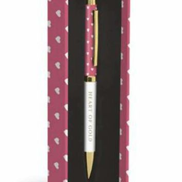 Heart of Gold Pen