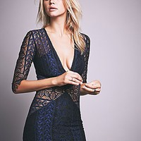 For Love & Lemons Womens Lyla Cocktail Dress