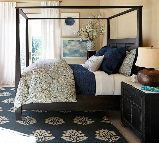 DAWSON BEDSIDE TABLE From Pottery Barn