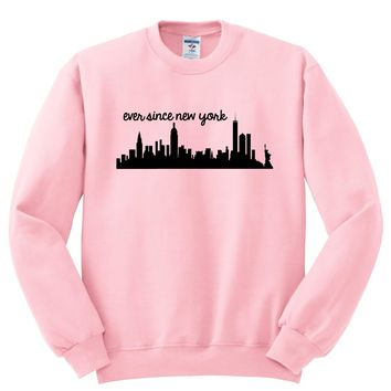 "Harry Styles ""Ever Since New York"" Skyline Crewneck Sweatshirt"