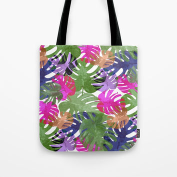 Monstera Glory Tote Bag by Mirimo