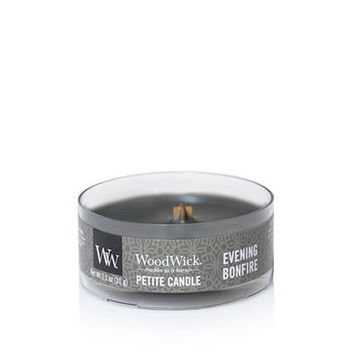 Evening Bonfire : Petite Candles : WoodWick