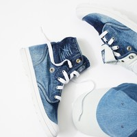 Free People Baggy Low LP Denim Boot