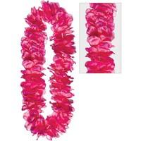 Pink Mahalo Flower Lei