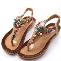 Women's Fashion sandals Summer women sandal Bohemia national flavor shoes  = 4776776644