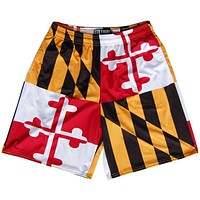 Maryland Flag Quads Lacrosse Shorts