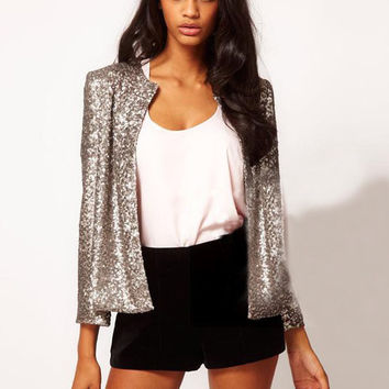 Tiffany Sequin Blazer