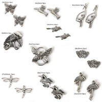 Vintage Metal Small Animal Charms for Jewelry Making DIY Zonc Alloy Pendant Charms Jewelry Handmade Crafts