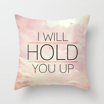Isaiah 41:10  Comfort | Hope | Strength Throw Pillow by Pocket Fuel | Society6