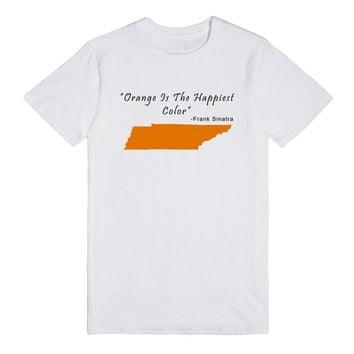 Orange is the Happiest Color Frank Sinatra Shirt