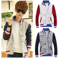 Mens Button-Up Sports Sweater