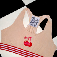 SWEET LORD O'MIGHTY! OG CHERRY BRALET IN NUDE