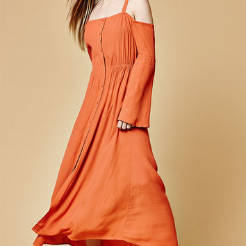 Somedays Lovin Endless Trail Maxi Dress at PacSun.com