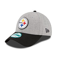 NFL Pittsburgh Steelers The League Heather 9forty Adjustable Cap, Heather, One Size