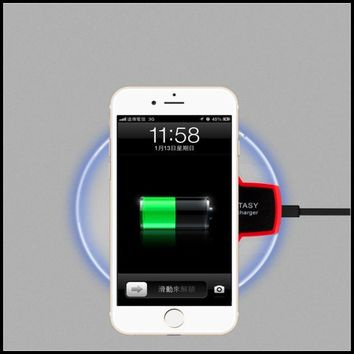 Wireless Charger For iPhone 5 SE Phone Accessory Easy Use Charging Bank Power Pad Charging Pad For iPhone 5C 6S Plus 7 Plus Case