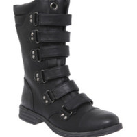 Black Cullen Strappy Boot