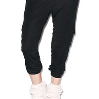 Wildfox Couture Classic Fox Cargo Pants Jet Black