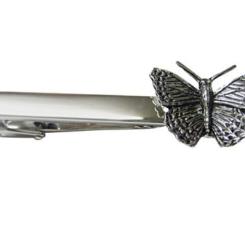 Butterfly Insect Square Tie Clip