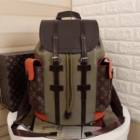 cc DCCK LV Backpack Army Orange