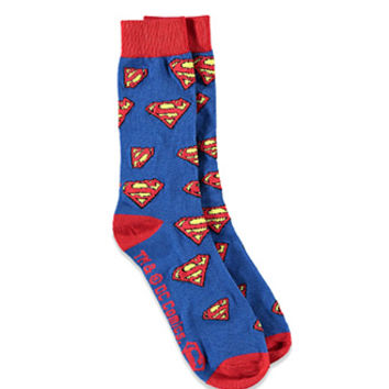 Superman Logo Socks