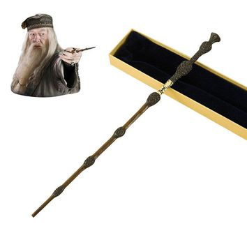 Metal Core Albus Dumbledore Magic Wand/Potter Magical Wands/Quality Gift Box Packing         for Harri Potter Cosplay