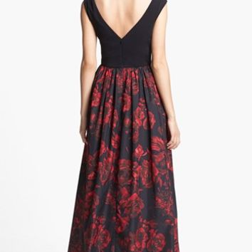 Aidan Mattox Fit & Flare Gown | Nordstrom