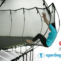 Springfree Trampoline - 10ft Medium Round With Basketball Hoop & Ladder (SKU 8O-1131-E70G)