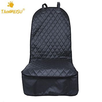 TAONMEISU Oxford Waterproof Card Seat Cover Pets Car Front Seat Protector Dog Cat Puppy Seat Mat Blanket Washable Universal