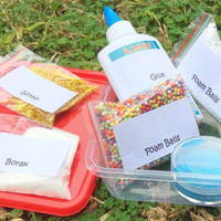 Slime Kit, DIY slime kit, Kids craft, DIY kit,Glue Kit