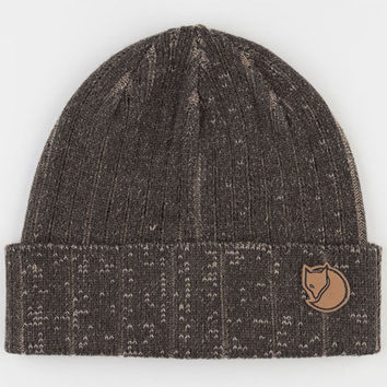 Fjallraven Plated Rib Beanie Dark Grey One Size For Men 22117311101