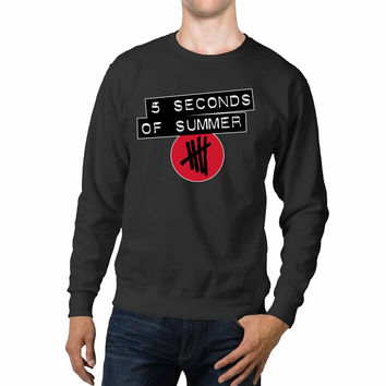 5 Seconds Of Summer Logo Red Unisex Sweaters - 54R Sweater
