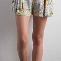 Southern Charm Floral Flare Shorts