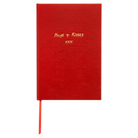 """Hugs & Kisses"" Journal, Red, Journals"