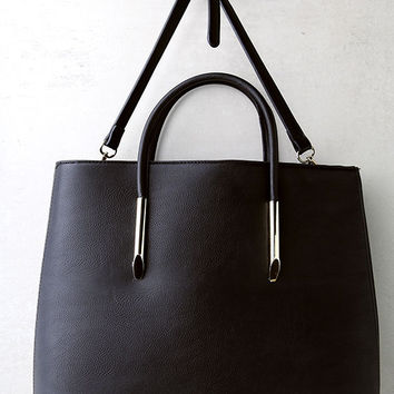 Weekday Black Tote