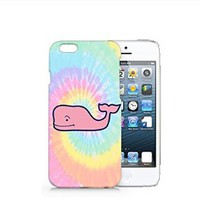 Tie Dye Speak Whale iphone 6 Case, iphone 6 Case Plastic Hard Case Unique Design-Quindyshop (iphone 6) (iphone 6 case) (NAM45)